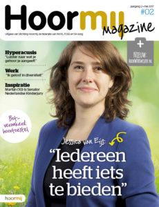 Jessica van Eijs in Hoormij magazine - slechthorend